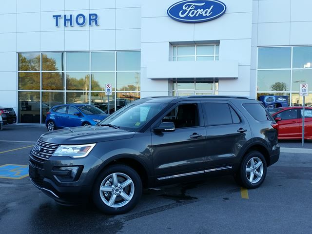 2016 ford explorer xlt orillia ontario new car for sale. Black Bedroom Furniture Sets. Home Design Ideas