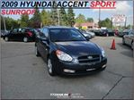 2009 Hyundai Accent Sport+Sunroof+Power Group+Keyless Entry+New Brakes in London, Ontario