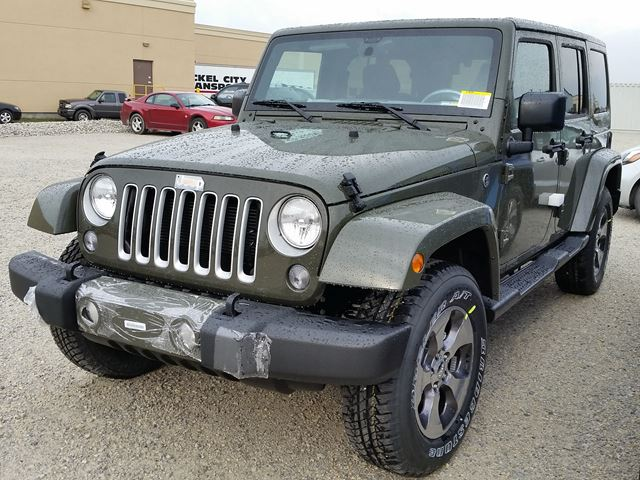 2016 jeep wrangler unlimited sahara 4x4 milton ontario new car for sale 2294952. Black Bedroom Furniture Sets. Home Design Ideas