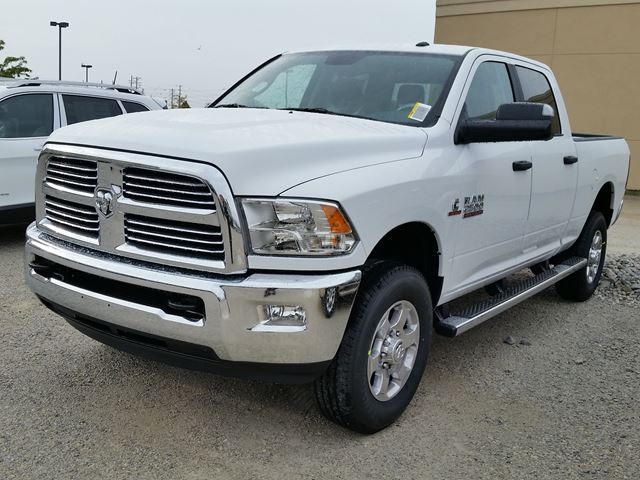2016 ram 2500 slt crew cab 4x4 white hunt chrysler new car. Black Bedroom Furniture Sets. Home Design Ideas
