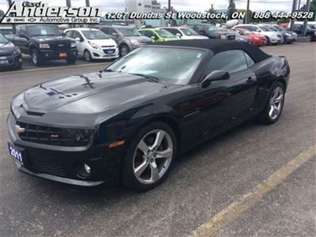 2011 chevrolet camaro ss certified low mileage black. Black Bedroom Furniture Sets. Home Design Ideas