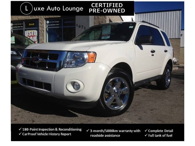 2011 ford escape xlt certified pre owned chrome wheels satellite radio remote start power. Black Bedroom Furniture Sets. Home Design Ideas
