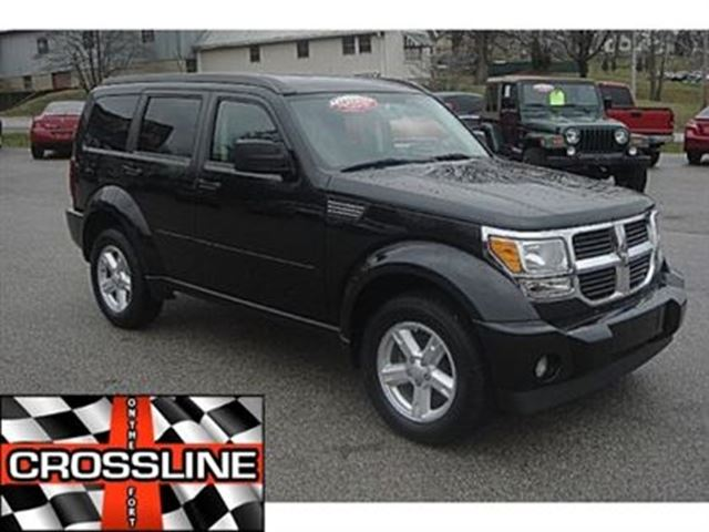 2008 dodge nitro sxt black crossline on the fort. Black Bedroom Furniture Sets. Home Design Ideas