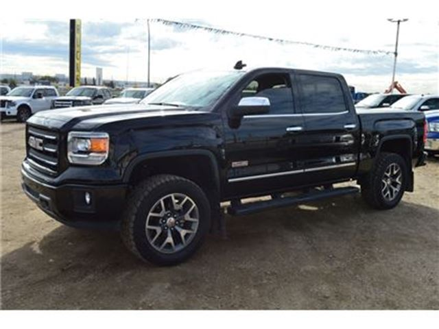 2015 gmc sierra 1500 slt lifted new all terrain tires in edmonton. Black Bedroom Furniture Sets. Home Design Ideas