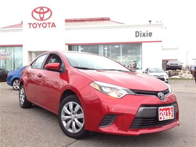 2015 toyota corolla le it 39 s toyota certified mississauga ontario used car for sale 2297059. Black Bedroom Furniture Sets. Home Design Ideas