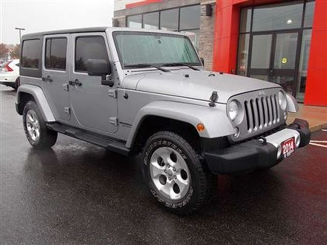 2014 jeep wrangler unlimited low km warranty remaining hard soft top never used inlcluded. Black Bedroom Furniture Sets. Home Design Ideas