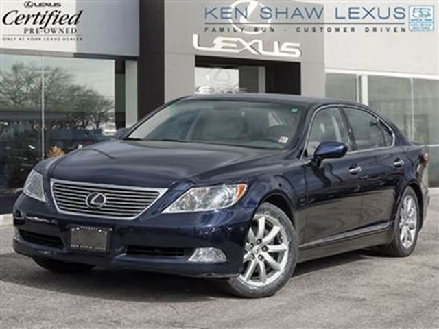 2008 lexus ls 460 long wheel base with tech package blue. Black Bedroom Furniture Sets. Home Design Ideas