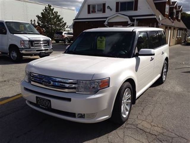 2009 ford flex sel awd hagersville ontario used car for. Black Bedroom Furniture Sets. Home Design Ideas