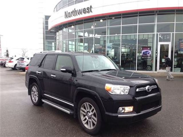 2013 toyota 4runner sr5 v6 a5 black northwest toyota. Black Bedroom Furniture Sets. Home Design Ideas