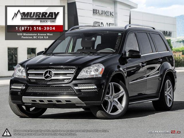 2012 mercedes benz gl class base penticton british for 2012 mercedes benz gl550 for sale