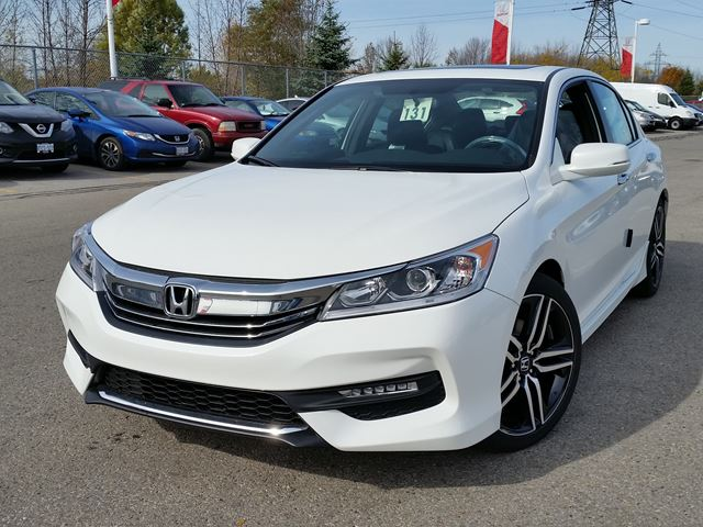 2016 honda accord sport whitby ontario new car for sale 2299821. Black Bedroom Furniture Sets. Home Design Ideas
