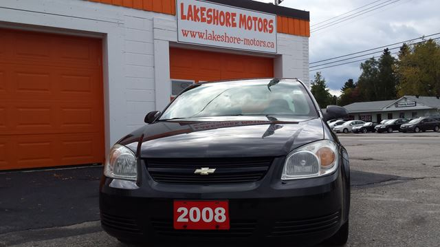 2008 Chevrolet Cobalt Lt Black Lakeshore Motors