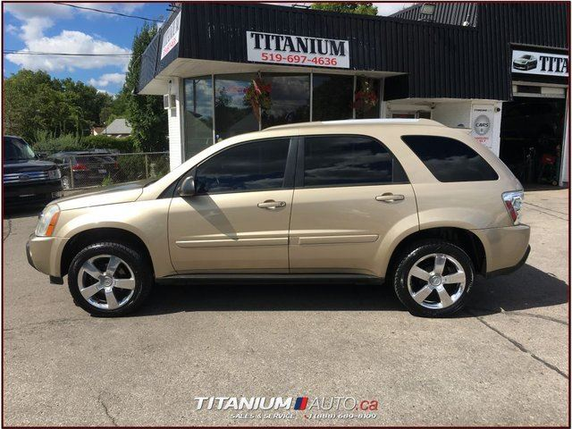 2005 chevrolet equinox lt awd heated leather seats sunroof new tires fogs london ontario used. Black Bedroom Furniture Sets. Home Design Ideas