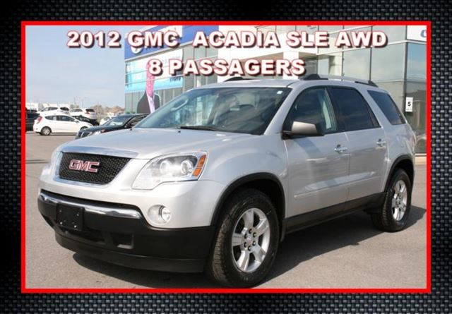 2012 GMC Acadia SLE1  AWD in Saint-Jean-Sur-Richelieu, Quebec