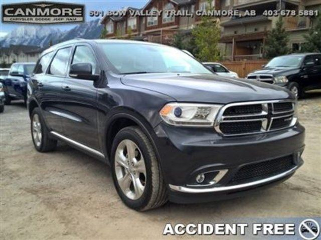 2014 DODGE DURANGO Limited Nav*Dual Dvd* Rear Heated Seats in Canmore, Alberta