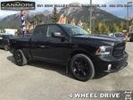 2014 Dodge RAM 1500 SXT Express Black OUT in Canmore, Alberta