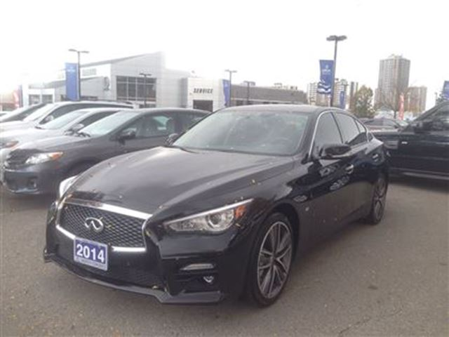 2014 infiniti q50 q50 awd sport premium navigation thornhill ontario used car for sale 2302901. Black Bedroom Furniture Sets. Home Design Ideas
