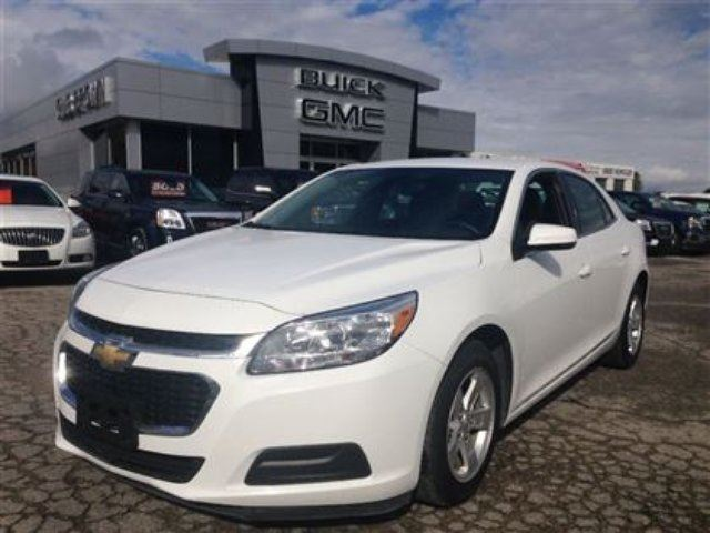 2015 chevrolet malibu lt white gus brown buick gmc port perry. Black Bedroom Furniture Sets. Home Design Ideas