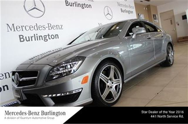 2012 mercedes benz cls63 amg burlington ontario used for Mercedes benz of ontario ca