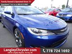2016 Chrysler 200 S w/ 8.4 TOUCHSCREEN & HEATED SEATS in Surrey, British Columbia