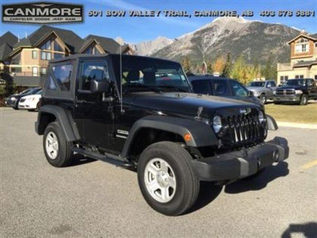 2015 JEEP WRANGLER Sport 4400kms! Rare Almost New!! in Canmore, Alberta