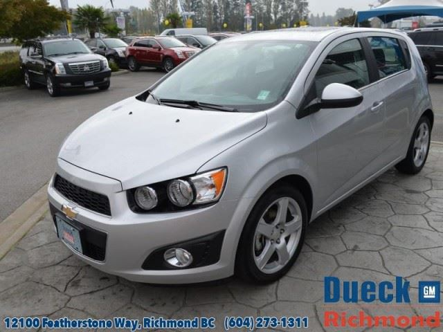 2015 chevrolet sonic lt auto richmond british columbia. Black Bedroom Furniture Sets. Home Design Ideas