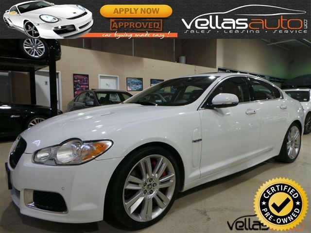 used 2011 jaguar xf r supercharged vaughan. Black Bedroom Furniture Sets. Home Design Ideas