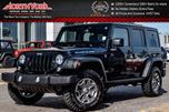 2015 Jeep Wrangler Unlimited Rubicon Power/Tow Pkg Htd Front Seats Nav Alpine Audio R.Start 17 Alloys in Thornhill, Ontario