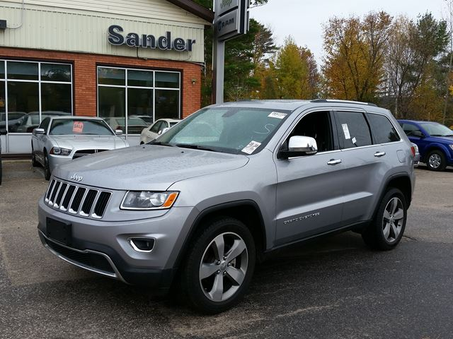 2015 jeep grand cherokee limited gravenhurst ontario car for sale 2305527. Black Bedroom Furniture Sets. Home Design Ideas