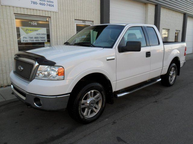 2006 ford f 150 lariat 4x4 super cab styleside 5 5 ft box 133 in wb st albert alberta used. Black Bedroom Furniture Sets. Home Design Ideas