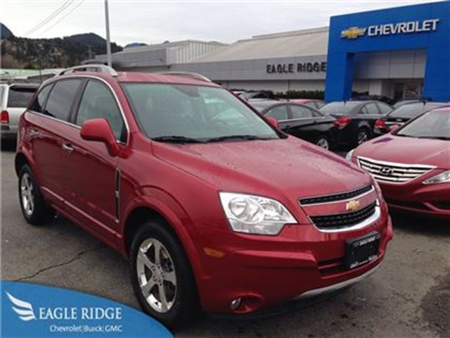 used 2012 chevrolet captiva v6 leather heated. Black Bedroom Furniture Sets. Home Design Ideas