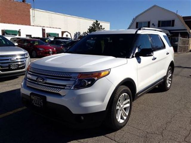 2015 ford explorer xlt v6 4x4 hagersville ontario used car for sale 2309258. Black Bedroom Furniture Sets. Home Design Ideas