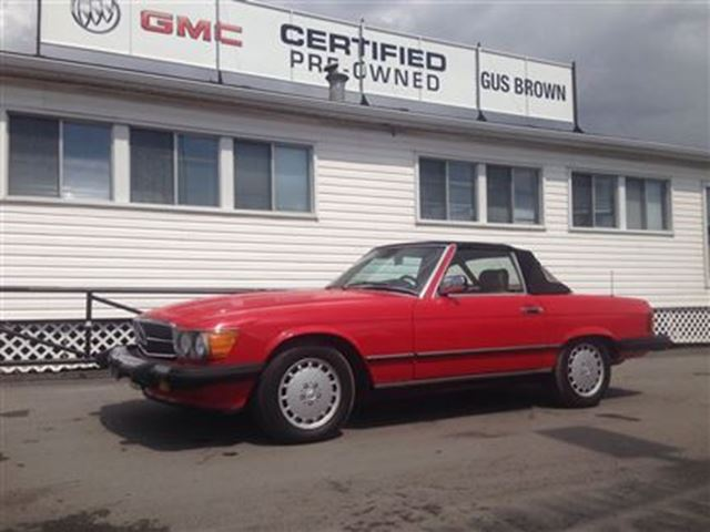 1986 mercedes benz 560sl 2 seater convertible classic for Mercedes benz two seater