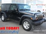 2010 Jeep Wrangler Unlimited Rubicon w/ Cloth Seats, Manual Tansmission, Keyles in Spruce Grove, Alberta