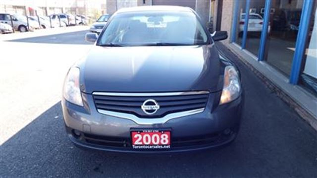 2008 nissan altima 2 5 s clean car with 2 year of warranty grey toronto car sales and auto. Black Bedroom Furniture Sets. Home Design Ideas