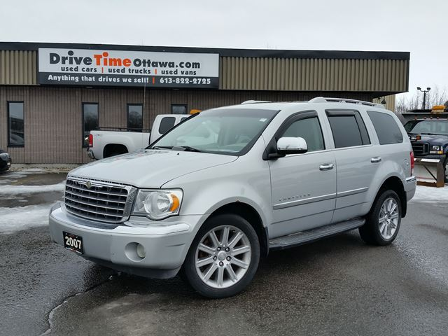 2007 chrysler aspen limited 4x4 ottawa ontario used car. Black Bedroom Furniture Sets. Home Design Ideas