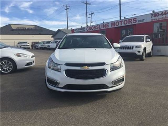 2015 chevrolet cruze lt premium cloth mylink like new edmonton alberta used car for sale. Black Bedroom Furniture Sets. Home Design Ideas