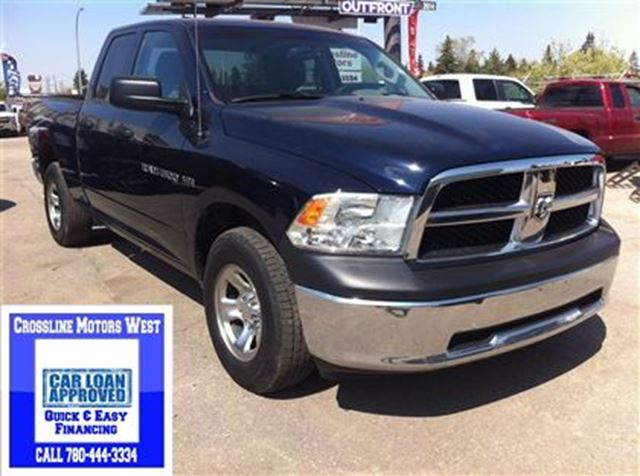 2012 dodge ram 1500 st power options great tow capacity edmonton alberta used car for sale. Black Bedroom Furniture Sets. Home Design Ideas