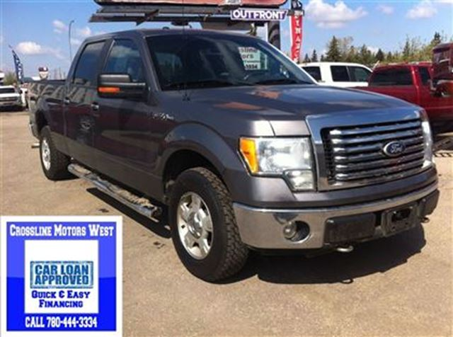 2010 ford f 150 power options low payments grey for Ford f150 motor options