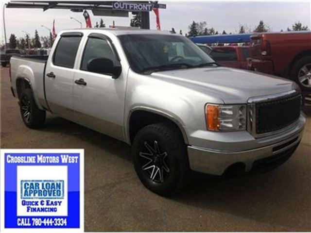 2010 Gmc Sierra 1500 Sle Custom Rims Great Towing Silver