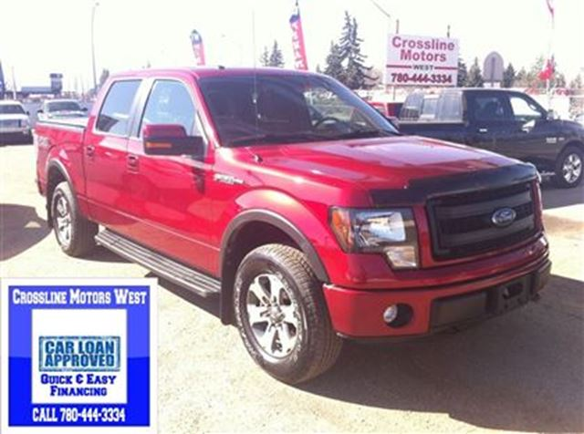 2013 ford f 150 fx4 power options great towing red. Black Bedroom Furniture Sets. Home Design Ideas