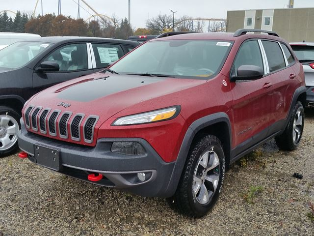 2016 jeep cherokee trailhawk 4x4 vaughan ontario car. Black Bedroom Furniture Sets. Home Design Ideas