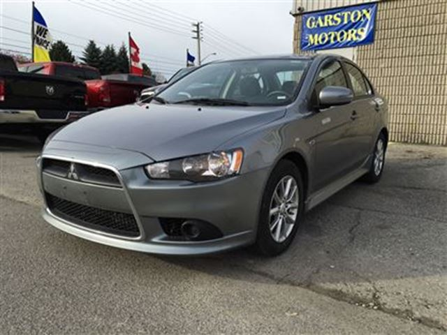 2015 mitsubishi lancer es cvt power windows doors locks keyless entry grey garston motors. Black Bedroom Furniture Sets. Home Design Ideas