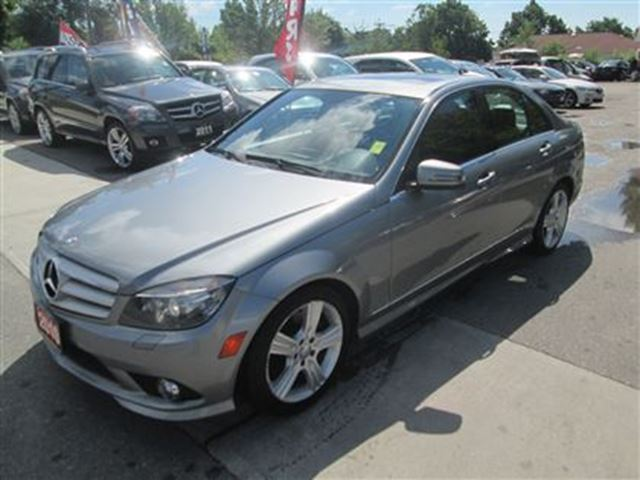 2010 mercedes benz c class c300 4matic navigation grey for Mercedes benz lease with bad credit