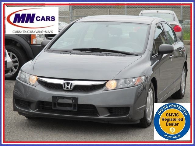 2009 honda civic lx at ottawa ontario used car for sale. Black Bedroom Furniture Sets. Home Design Ideas