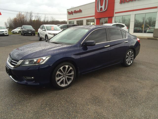 2013 honda accord sport smiths falls ontario used car. Black Bedroom Furniture Sets. Home Design Ideas