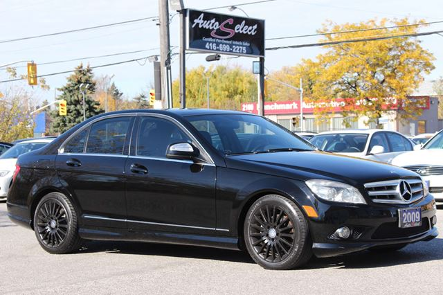 2009 mercedes benz c class awd c230 4matic only 159k. Black Bedroom Furniture Sets. Home Design Ideas