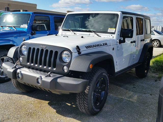 2016 jeep wrangler unlimited sport 4x4 white hunt chrysler new car. Black Bedroom Furniture Sets. Home Design Ideas