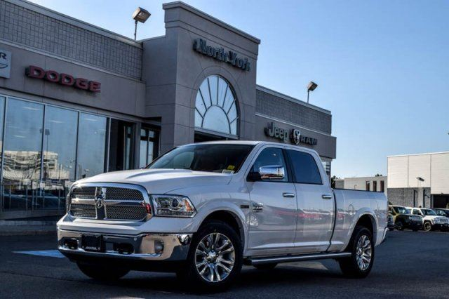 2016 ram 1500 longhorn white north york chrysler jeep dodge ram fiat new car. Black Bedroom Furniture Sets. Home Design Ideas