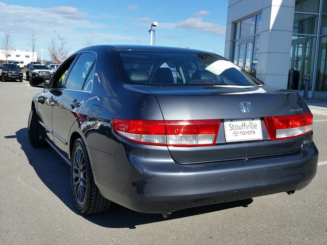 used 2004 honda accord sdn ex l   accident free   dealer certified
